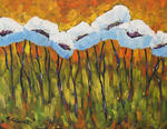 Richard T Pranke - Abstract Poppies_SOLD