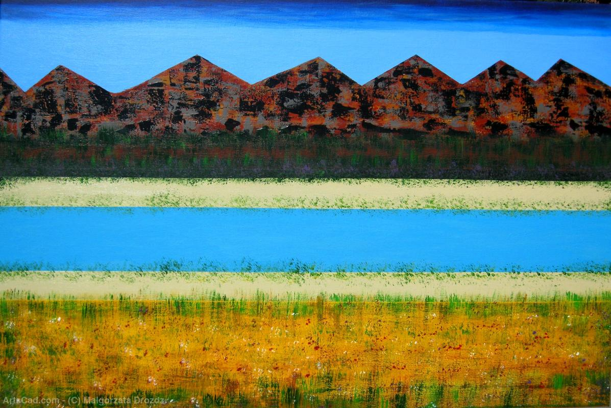Artwork >> Malgorzata Drozdz >> The Grampians