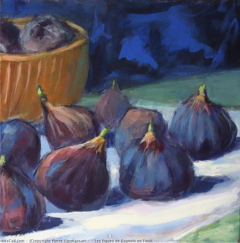 Artwork >> Pierre Vanmansart >> bagnols figs up in  forest