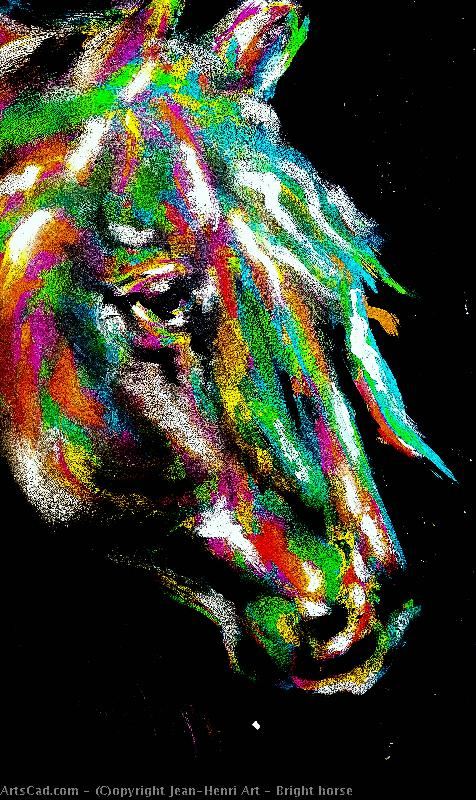 Artwork >> Jean-Henri Art >> Bright horse