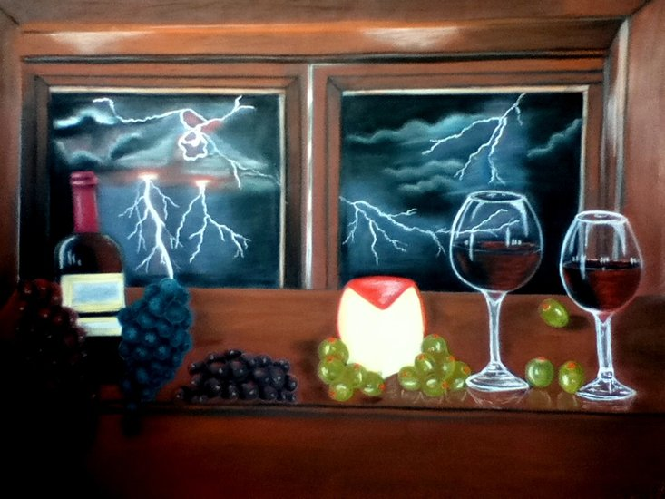 Artwork >> Lizbeth Garcia >> Bodegon (Gusto)