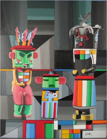Artwork >> Sergio Roffe >> Kachin DOLLS