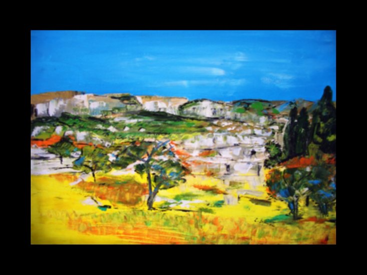 Artwork >> Laure Leprince >> Alpilles