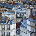 Marie-Claire Houmeau - Rooftops of The paris Montmartre