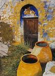Jean-Claude Selles Brotons - the door from  Corfu