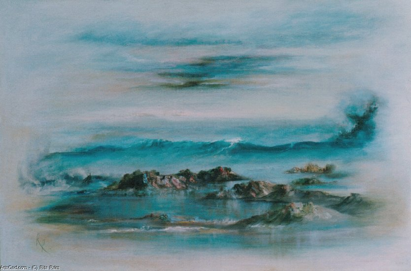 Artwork >> Rita Palm >> Rock Pool