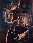 René Milone - The blacksmith