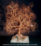 Sal Villano Wire Tree Sculpture - Kristallnacht, Tree of Life