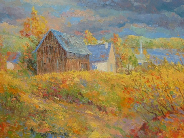 Artwork >> Jacques Fontan >> Close to Saguenay