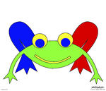Asbjorn Lonvig - Frederic the Frog - Print on demand