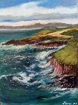 Salaun Margo - cliffs Breton  where  Irish
