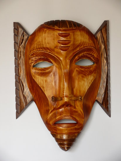 Artwork >> Vladislav Noxoff >> Wooden mask-Priest