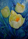 Valery Budanov - Three tulips