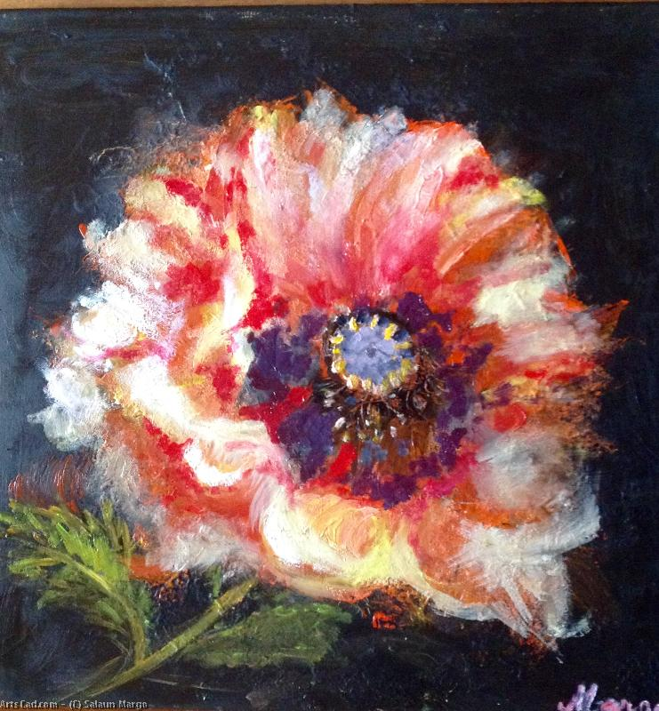 Artwork >> Salaun Margo >> poppy