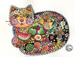 Oxana Zaika - chat-bonbon/ sold.