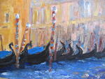 Impressionist2 Gallery - gondolas in the shade