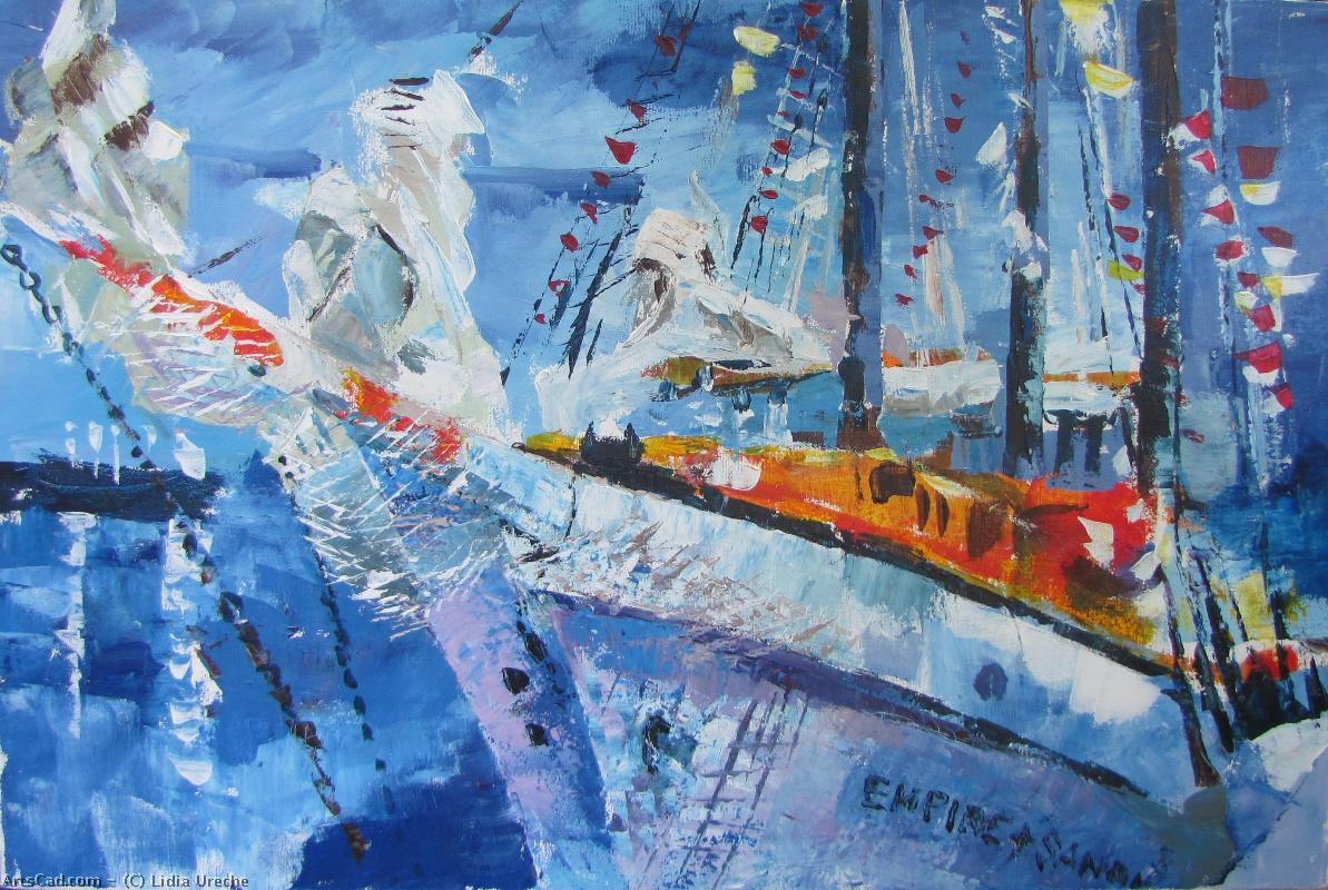 Artwork >> Lidia Ureche >> Sailboat at Sorel-Tracy II TO