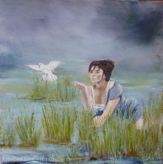 Artwork >> Gisèle Grana >> The dove