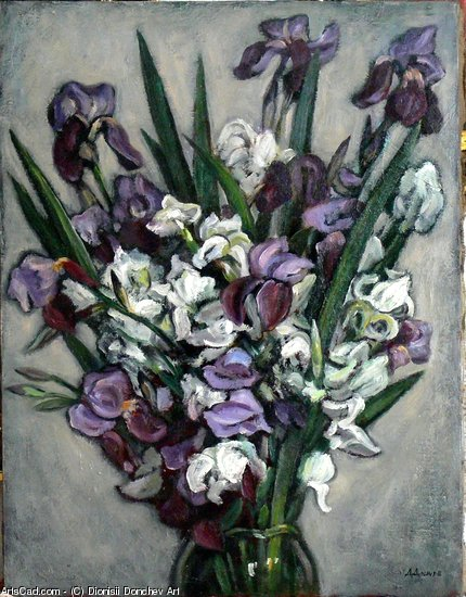Artwork >> Dionisii Donchev Art >> Flowers