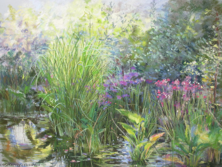 Artwork >> Michele Frot >> garden grass