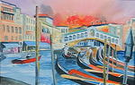 Paradis Studio - The Rialto Bridge, Venice.