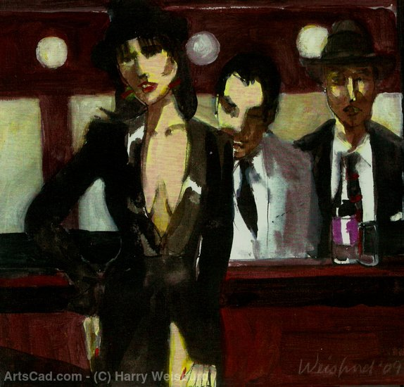 Artwork >> Harry Weisburd >> Happy Hour 2