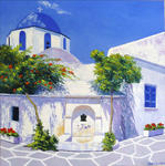 Michel Guioton - landscape of greece