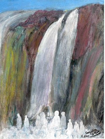 Artwork >> Mohammed Saoud >> cascading