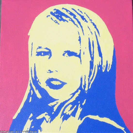 Artwork >> 1 Portrait Pop Art >> POPFRESH7