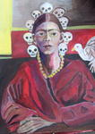 Ruth Olivar Millan - Cuca - Portrait of Frida by Ruth Olivar Millan