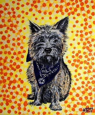 Artwork >> Alan Hogan >> The Cairn Terrier
