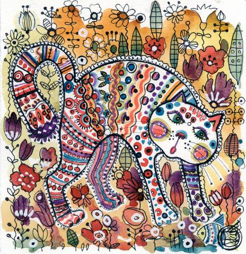 Artwork >> Oxana Zaika >> cat SOLD.