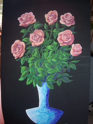 Artwork >> To Coullet >> Bouquet of Roses