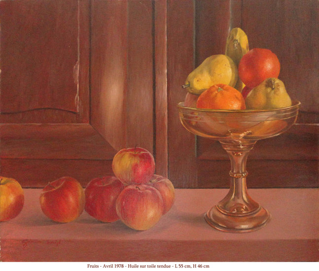 Artwork >> Gilles Boulinguez >> fruits