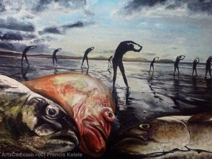Artwork >> Francis Ketele >> Fish