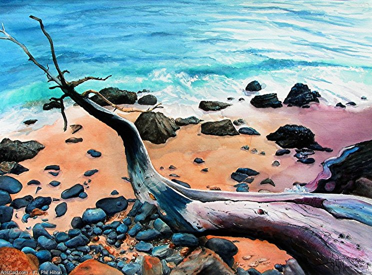 Artwork >> Phil Hilton >> FINGERS TO THE SEA