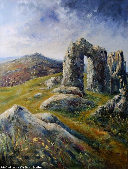 Artwork >> David Mather >> Dartmoor past