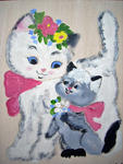 Marie Christine Legeay - THE CAT WHITE - tea WHITE CAT