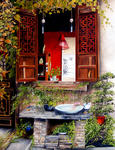 Marie-Claire Houmeau - Window to Wuzhen - China