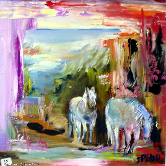 Artwork >> Irane Perko >> the horses