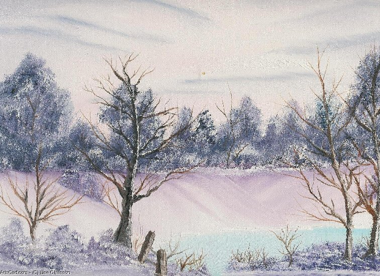 Artwork >> Lise Chiasson >> Winter Landscape