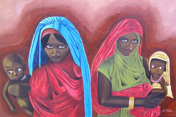 Artwork >> Natasha Tatta >> Women of Beni Amer