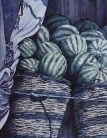 Artwork >> Castillon >> the watermelons syros