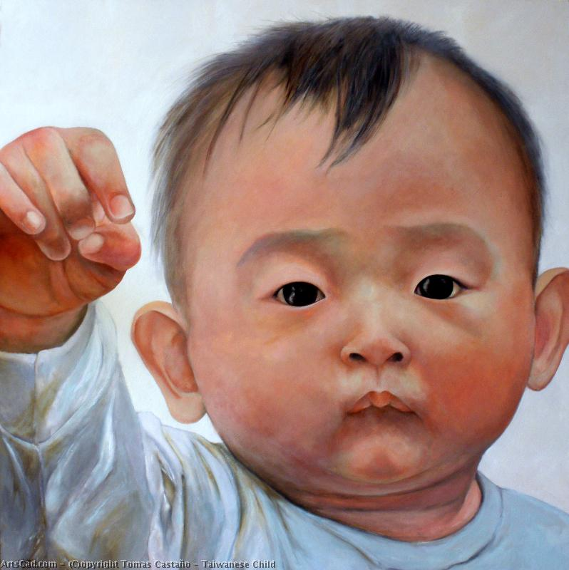 Artwork >> Tomas Castaño >> taiwanese child