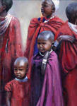 Artwise Fine Art Gallery - Children of the Masai