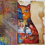 Oxana Zaika - cat the medieval SOLD.