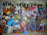 African Art Consult Art Centre And Gallery - Queen of lunza marriage