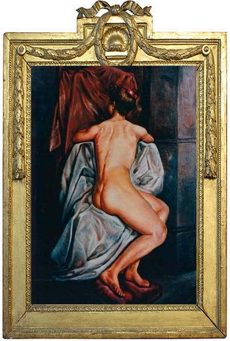 Artwork >> Jose Galvan >> Nude back bevy private