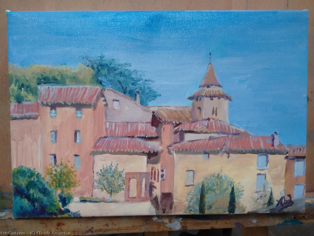 Artwork >> Claude Arcambal >> The roofs from gaillac