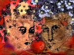 Silvia A. Ramos - Two Women and One Apple